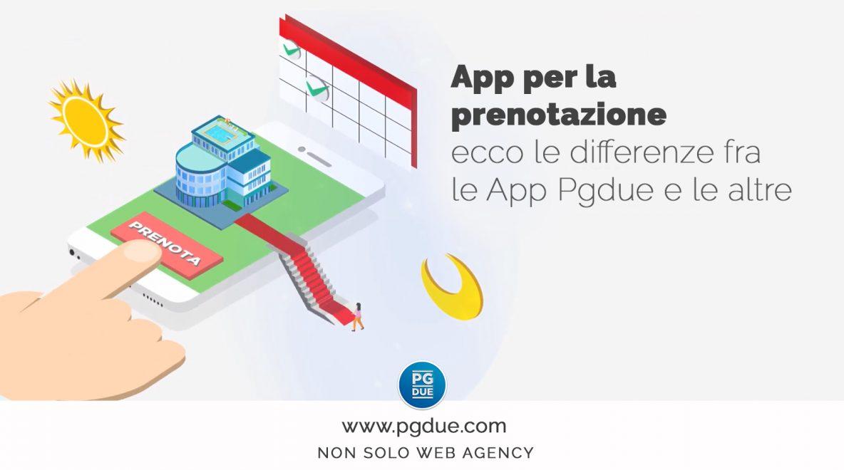 App per la prenotazione: ecco le differenze fra le App Pgdue e le altre
